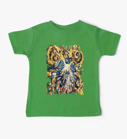 Big Bang Attack Exploded Flamed Phone booth painting Baby Tee