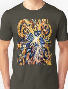 Big Bang Attack Exploded Flamed Phone booth painting T-Shirt