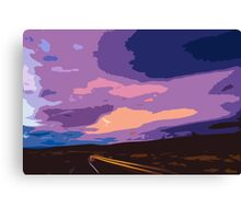 Drive into Oblivion Canvas Print