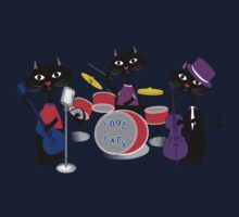 Cool For Cats Music Themed Kids Tee