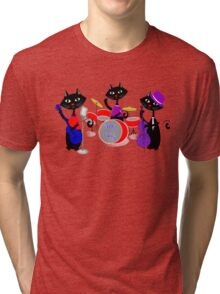 Cool For Cats Music Themed Tri-blend T-Shirt