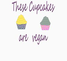 Cupcakes are Vegan Womens Fitted T-Shirt