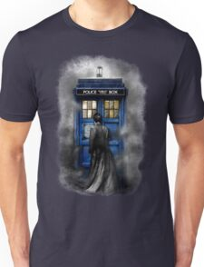 Mysterious Time traveller with Black suit Unisex T-Shirt