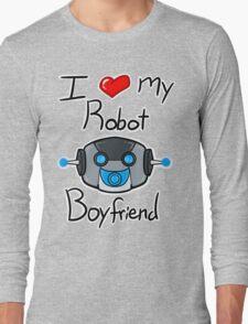 I <3 my Robot Boyfriend Long Sleeve T-Shirt