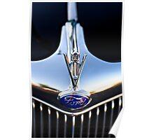 Ford V8 emblem Poster