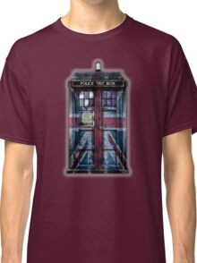 British Union Jack Space And Time traveller Classic T-Shirt