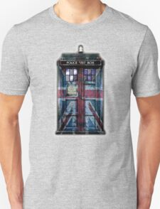 British Union Jack Space And Time traveller Unisex T-Shirt