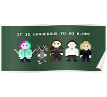 Team Dresden: It is dangerous to go alone Poster