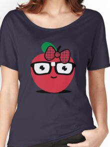 Nerdy Apple (girl) Women's Relaxed Fit T-Shirt