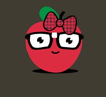 Nerdy Apple (girl) Womens Fitted T-Shirt