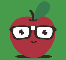 Nerdy Apple (boy) by Amy Grace