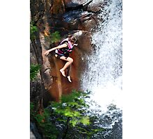 Smalls Falls Leap of Faith #2 Photographic Print