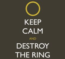 Frodo Keep Calm by jerbing33