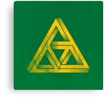 TRIFORCE IMPOSSIBLE TRIANGLE ZELDA LINK Canvas Print