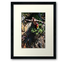 Smalls Falls Leap of Faith #4 Framed Print