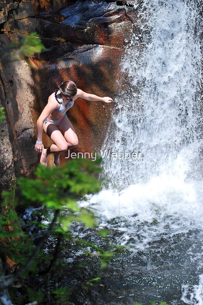 Smalls Falls Leap of Faith #5 by Jenny Webber