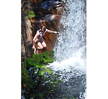 Smalls Falls Leap of Faith #5 Photographic Print