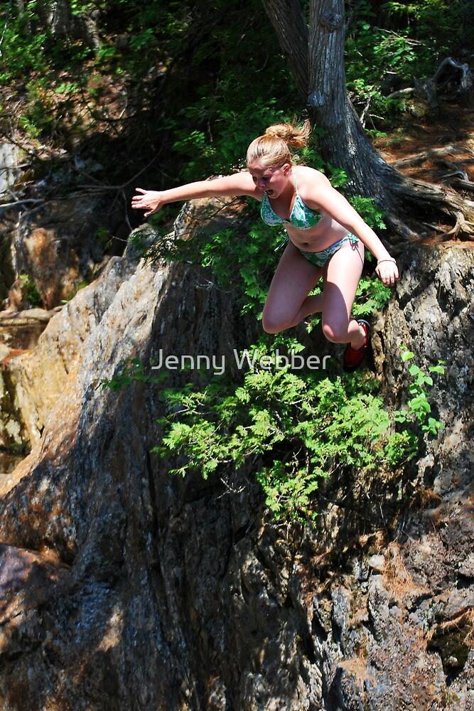 Smalls Falls Leap of Faith #6 by Jenny Webber
