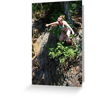 Smalls Falls Leap of Faith #6 Greeting Card