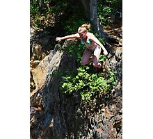 Smalls Falls Leap of Faith #6 Photographic Print
