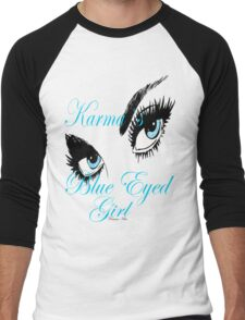 Karmas Blue Eyed Girl Men's Baseball ¾ T-Shirt
