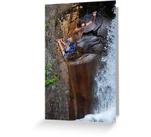 Smalls Falls Leap of Faith #8 Greeting Card