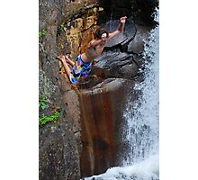 Smalls Falls Leap of Faith #8 Photographic Print
