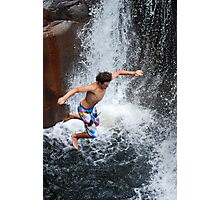 Smalls Falls Leap of Faith #9 Photographic Print