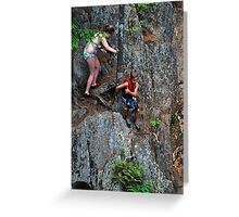 Smalls Falls Leap of Faith #10 Greeting Card