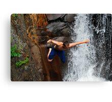 Smalls Falls Leap of Faith #12 Canvas Print