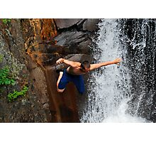 Smalls Falls Leap of Faith #12 Photographic Print