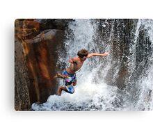 Smalls Falls Leap of Faith #13 Canvas Print