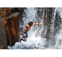 Smalls Falls Leap of Faith #13 Photographic Print