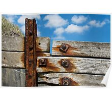 Rusted Timbers  Poster