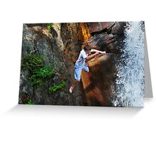 Smalls Falls Leap of Faith #16 Greeting Card