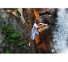 Smalls Falls Leap of Faith #16 Photographic Print