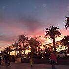 las vegas sunset by wormink