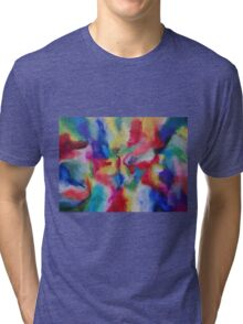 """Euphoria"" original abstract artwork by Laura Tozer Tri-blend T-Shirt"