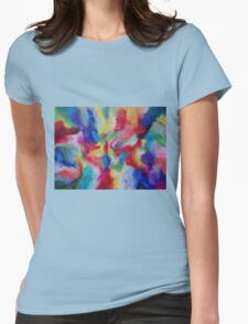 """""""Euphoria"""" original abstract artwork by Laura Tozer Womens Fitted T-Shirt"""