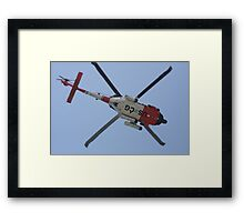 Coast Guard in Action Framed Print