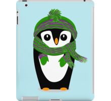 Penguin Hat, Scarf and Mittens iPad Case/Skin