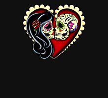 Ashes - Day of the Dead Couple - Sugar Skull Lovers T-Shirt