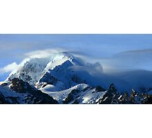 mt tasman III  fox glacier south westland  nz  Photographic Print