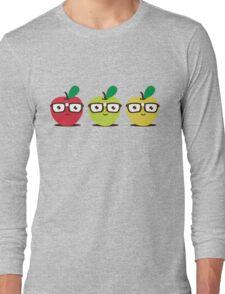 Nerdy Apples Long Sleeve T-Shirt