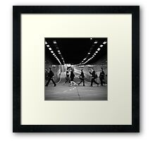 The Commuters Framed Print