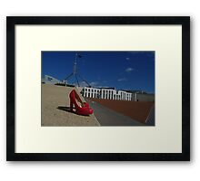 Nations Capital Framed Print