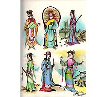 Assorted Characters From Chinese Folklore ( Hangzhou ) Photographic Print