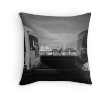 The Bus Passengers Throw Pillow