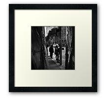 The Waiters Framed Print
