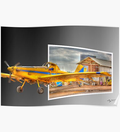 Ready to Fly Out - Crop Duster Poster